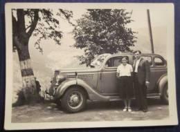 1930 1940 Petite PHOTO Voiture ALLEMANDE Ancienne VEHICULE Décapotable FRANCAISE - Coches
