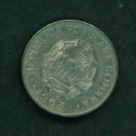 ROMANIA  -  1963  1 Leu  Circulated As Scan - Romania