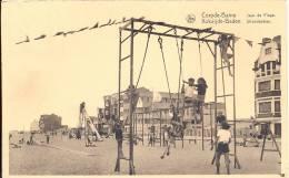 KOKSIJDE   1951  COXYDE BAINS  JEUX DE PLAGE   KOKSIJDE BADEN  STRANDSPELEN - Koksijde