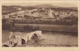 France Avignon Vue Generale et le Pont St Benazet
