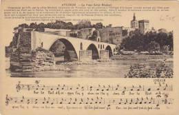 France Avignon Le Pont Saint Benezet 1934