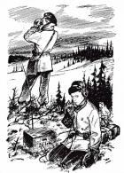SCOUTISME SCOUTISMO BOY SCOUT ILLUSTRATION  RADIO TSF TRANSMISSIONS   ILLUSTRATEUR PIERRE JOUBERT  SUPERBE  ! ! ! - Scoutisme