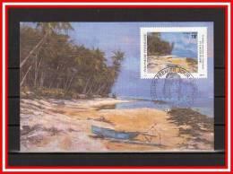 """FRANCE / POLYNESIE CM De 1994 N° YT 471 """" PEINTRES DE POLYNESIE : PIERRE LACOUTURE """". Parfait état + Prix Dégressif ! - Cartes-maximum"""
