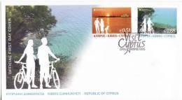 CYPRUS 2012 EUROPA CEPT 2012 Complete Set FDC UNUSED LUX - Europa-CEPT