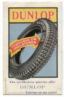 B4447 * Mata Borrão / Tire. DUNLOP. Advertising. Automobilia. - Blotters