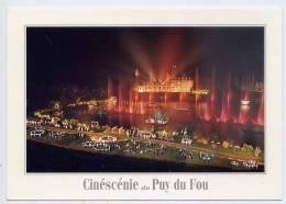 LES EPESSES--Puy Du Fou --Spectacle Son Et Lumière--Cinéscénie,cpm N° 17  éd Artaud - Other Municipalities