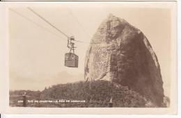 Brazil Rio De Janeiro Pao De Assucar Cartao Postal Photo Original Postcard Cpa Ak (W_836) - Rio De Janeiro