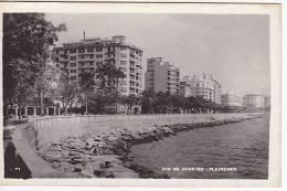 Brazil Rio De Janeiro Cartao Flamengo Postal Photo Original Postcard Cpa Ak (W_840) - Rio De Janeiro
