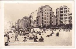 Brazil Rio De Janeiro Praia De Copacabana Cartao Postal Photo Original Postcard Cpa Ak (W_842) - Rio De Janeiro