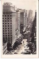 Brazil Rio De Janeiro Avenida Rio Branco - Cars - Cartao Postal Photo Original Postcard Cpa Ak (W_852) - Rio De Janeiro