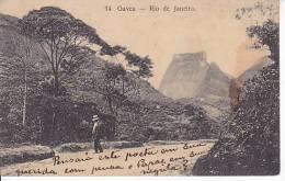 Brazil Rio De Janeiro Gavea Cartao Postal Original Postcard Cpa Ak (W_806) - Rio De Janeiro