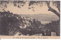 Brazil Rio De Janeiro Vista De Sta. Teresa-Curvello Cartao Postal Original Postcard Cpa Ak (W_808) - Rio De Janeiro