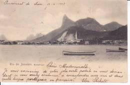 Brazil Rio De Janeiro Botafogo Cartao Postal Original Postcard Cpa Ak (W_812) - Rio De Janeiro