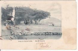 Brazil Rio De Janeiro Praia De Santa Luzia Cartao Postal Original Postcard Cpa Ak (W_813) - Rio De Janeiro