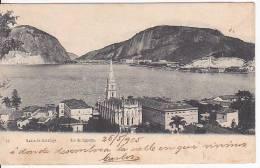 Brazil Rio De Janeiro Bahia De Botafogo Cartao Postal Original Postcard Cpa Ak (W_814) - Rio De Janeiro