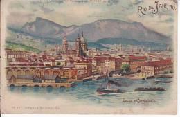 Brazil Rio De Janeiro Docas E Candelaria Cartao Postal Original Postcard Cpa Ak (W_818) - Rio De Janeiro