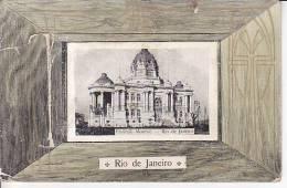 Brazil Rio De Janeiro Pavilhao Monroe - Vista Desplegable - Cartao Postal Original Postcard Cpa Ak (W_821) - Rio De Janeiro