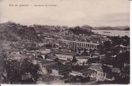 Brazil Rio De Janeiro Aqueducto  Da Carioca Cartao Postal Original Postcard Cpa Ak (W_826) - Rio De Janeiro
