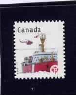 CANADA, 2012, CANADA PRIDE: BOAT With HELICO, SINGLE USED - 1952-.... Règne D'Elizabeth II
