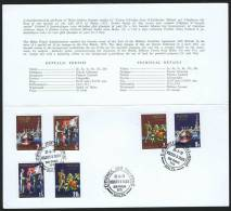 1979  End Of Military Agreement With UK Complete Set In Presentation Folder With First Day Cancel - Malta
