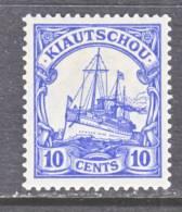 Kiauchau 36  *   Wmk - Colony: Kiauchau