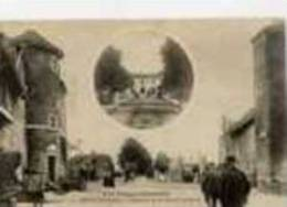 88-LIFFOL-le-GRAND-L´Aven Ue  De La Gare Et Le Caron--animée- - Liffol Le Grand