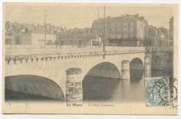 CPA 72 LE MANS - Le Pont Gambetta - Le Mans