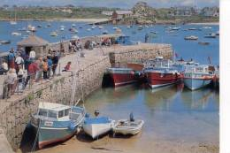 ISLES OF SCILLY - ST MARY´S - PASSENGER BOATS AT OLD QUAY - Autres