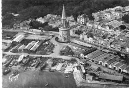 CPSM 17 LA ROCHELLE  VUE AERIENNE  Grand Format - La Rochelle