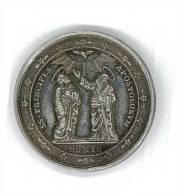 SS PRINCIPES APOSTOLORUM - MEDAGLIA - TOTA PULCHRA ES ET MACULA NON EST IN TE - ARGENTO - Monedas & Billetes