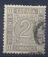 ESP0288  EDIFIL Nº 116 - 1872-73 Reino: Amadeo I