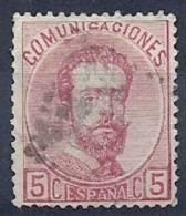 ESP0292  EDIFIL Nº 118 - 1872-73 Reino: Amadeo I