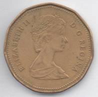 CANADA 1 DOLLAR 1988 - Canada