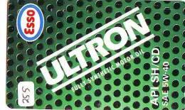 Télécarte Japon *  Publicité Pétrole Essence ESSO (255) Phonecard Japan * Telefonkarte *  PETROL STATION * - Petrole