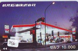 Télécarte Japon *  Publicité Pétrole Essence ESSO (256) Phonecard Japan * Telefonkarte *  PETROL STATION * - Erdöl