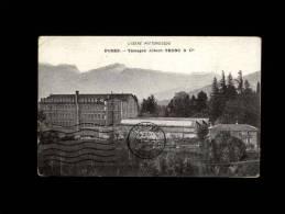 38 - FURES - Tissages Albert TRONC & Cie - France