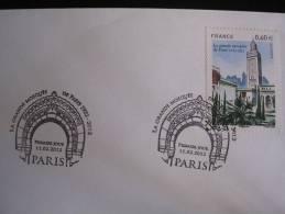 France-- Mosquée De Paris -cachet Premier Jour Du11 Fev 2012 - Cachets Commémoratifs