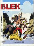 BLEK LE ROC ALBUM N° 83 ( 490 491 492 ) BE SEMIC 12-1991 - Blek