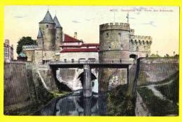 * Metz (Dép 57 - Moselle - France) * (F. Conrard) Deutsches Tor, Porte Des Allemands, Pont, CPA, Rare, Old, Brug - Metz