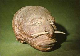 FIRENZE Museo Nazionale Di Antropologia Ed Ethnologia Isole Salomoe Cranio Trofeo Rimodellato Con Argilla , Crane - Firenze (Florence)