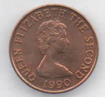 JERSEY 1 PENNY 1990 - Jersey
