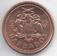 BARBADOS 1 CENT 1995 - Barbades
