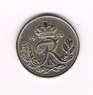DENEMARKEN  10 ORE  1955 - Denmark