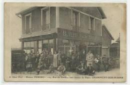CHAMPIGNY SUR MARNE (94) - A L'AMI PAUL - MAISON POMIRO 104 RUE DE VERDUN COIN AVENUE DE DIANE - Champigny Sur Marne