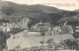 LA CANOURGUE : Vue Generale De L'est Et Route Des Gorges Du Tarn - Autres Communes