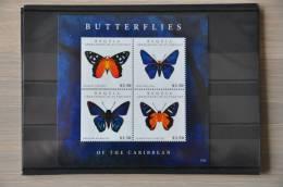 H 110 ++  2012 ST. VINCENT VLINDERS BUTTERFLIES PAPILLON SCHMETTERLING  ++ MNH POSTFRIS ** - St.-Vincent En De Grenadines