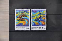 H 114 ++  2012 TADZJIKISTAN YEAR OF THE DRAGON FISH POISSON  ++ MNH POSTFRIS ** - Tadjikistan
