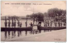 21 : Dijon : Passe De Joute Au Port Du Canal - Dijon