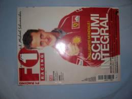 6 Magazines F1 Racing Sur:michael Schumacher Chez FERRARI - Car Racing - F1