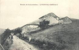 BAGLOS LES BAINS . Route De La Loubiere. L´oustal-Cremat - Le Bleymard